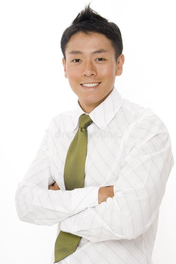 Китайский бизнесмен стоковые фотографии rf