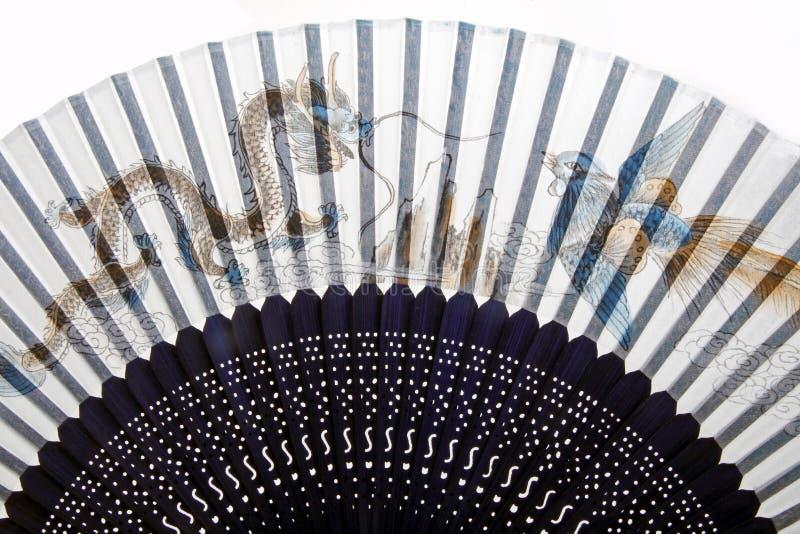 китайский вентилятор традиционный иллюстрация вектора