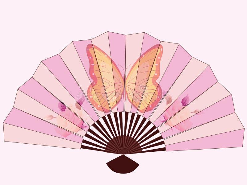 китайский вентилятор бесплатная иллюстрация