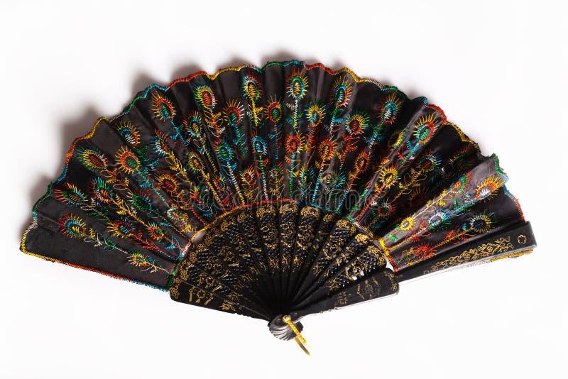 китайский вентилятор стоковые фото