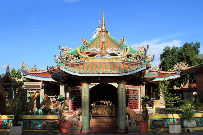 китайский висок крыши стоковое изображение rf