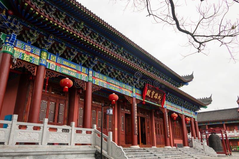 Китайский висок тысячелетия стоковое изображение rf