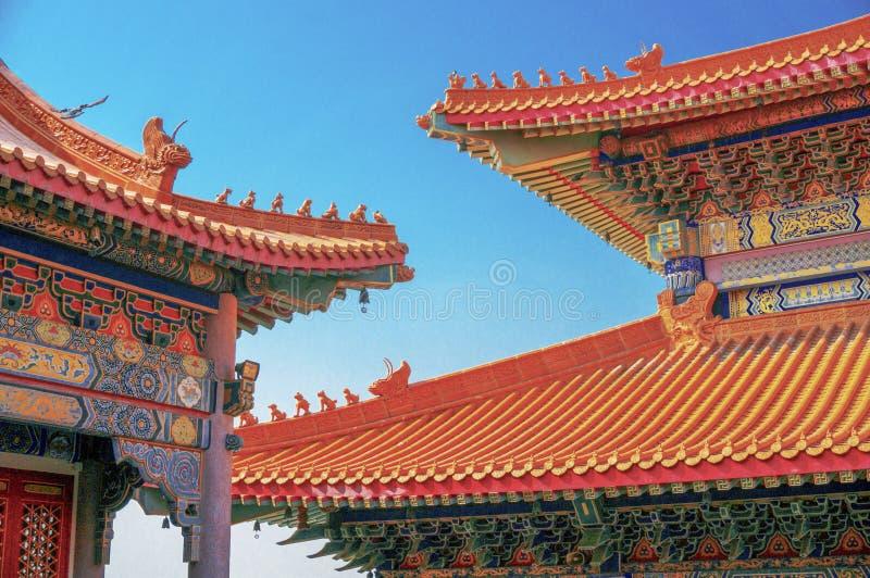 китайский висок 3 стоковое фото