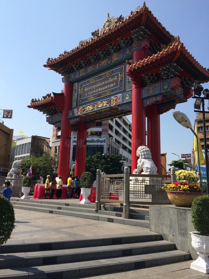 китайский висок стоковое изображение