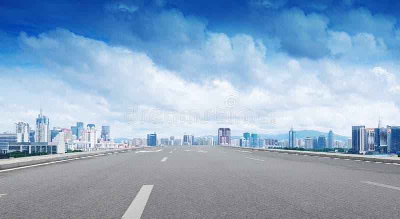 Китайский город, Шэньчжэнь стоковое изображение rf