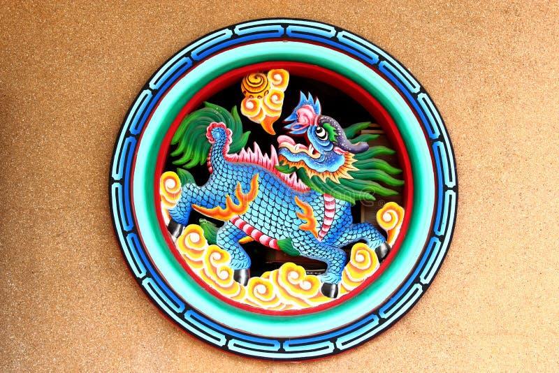 Китайский лев стоковые фото