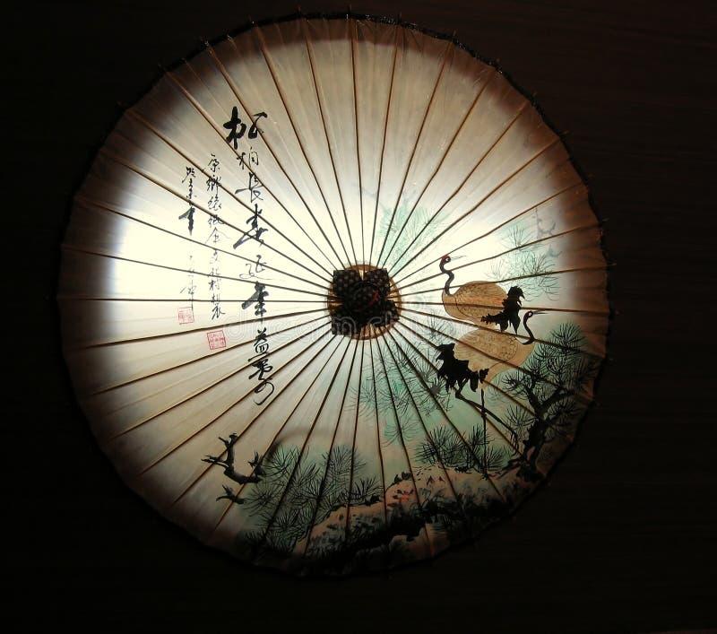 китайский зонтик oilpaper стоковые фотографии rf