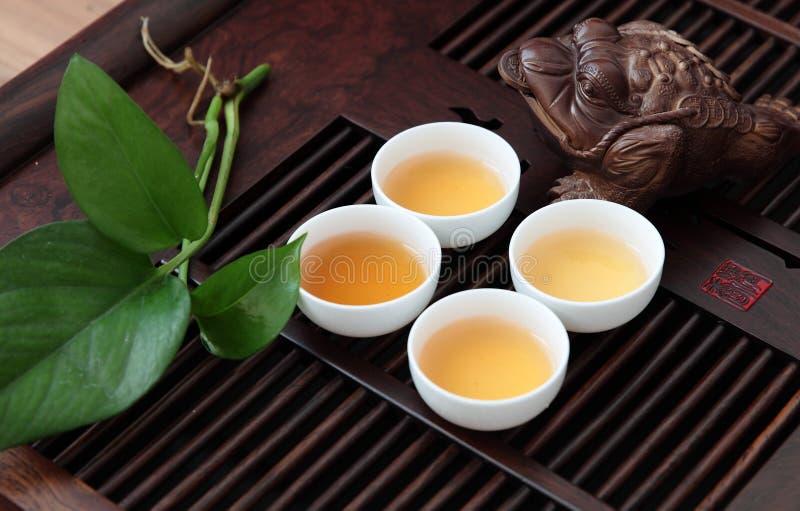 Китайский комплект чая стоковая фотография