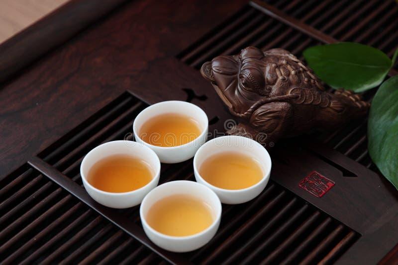 Китайский комплект чая стоковое изображение