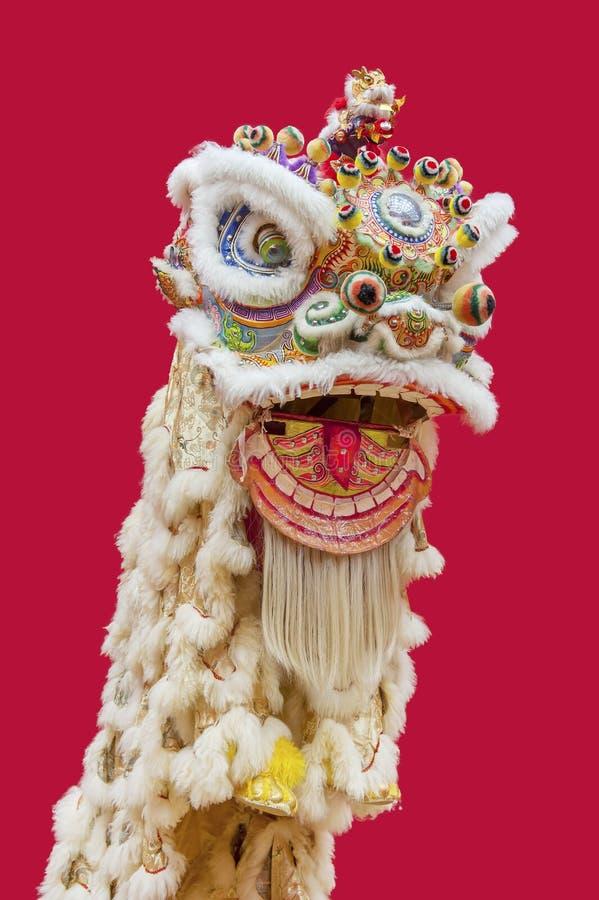 Китайский костюм танца льва стоковое фото rf