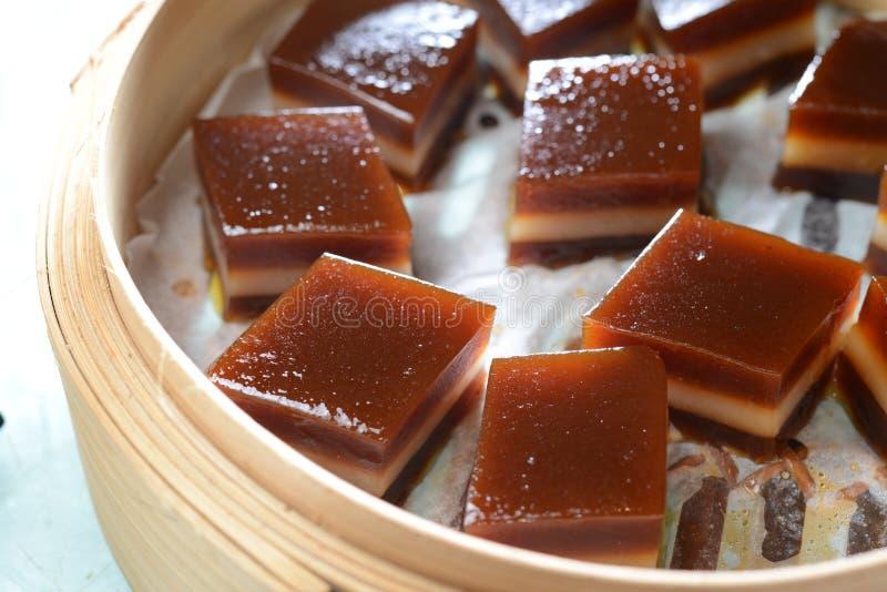 Китайский красный торт даты стоковое изображение rf