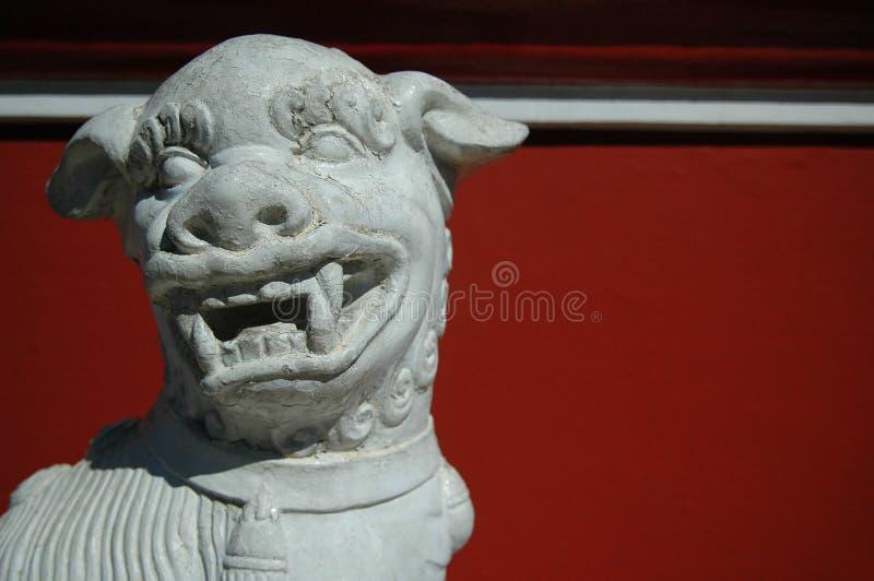 китайский львев стоковое изображение