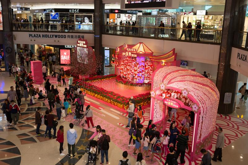 Китайский Новый Год в Гонконге стоковое изображение rf