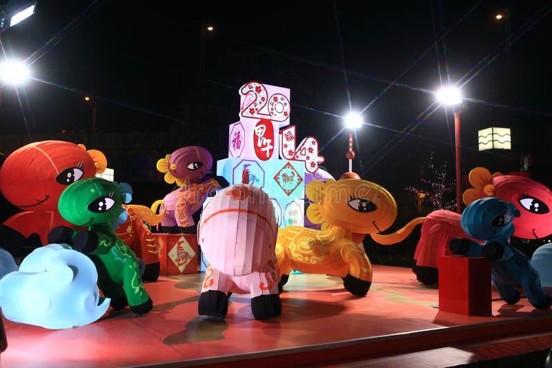 Китайский Новый Год лошади стоковое изображение rf