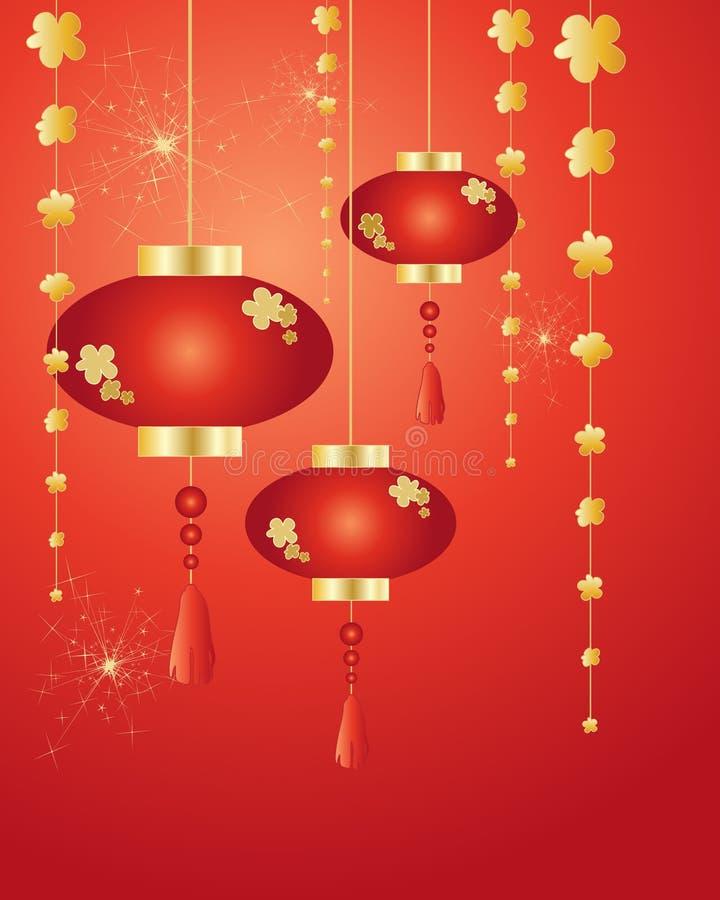 Китайский Новый Год бесплатная иллюстрация
