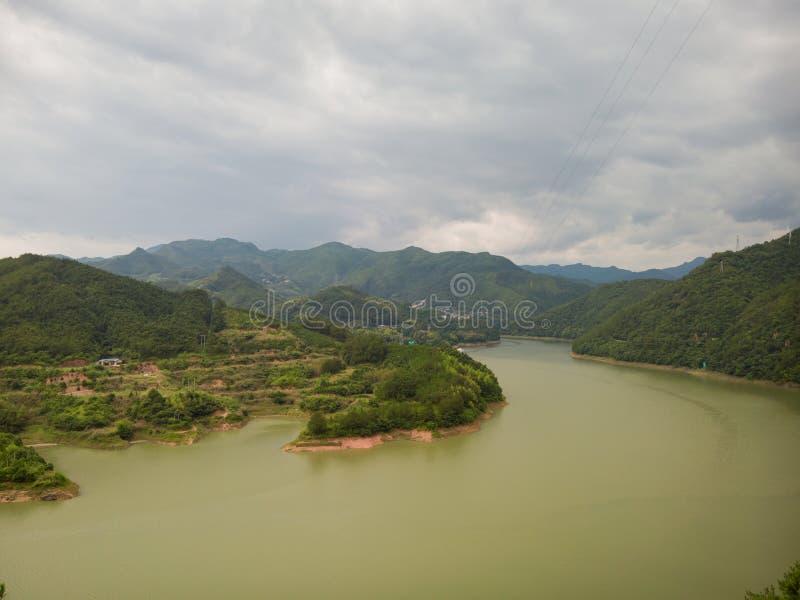 Китайский дом фермы стоковое изображение rf