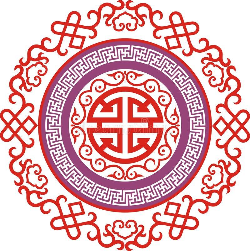 Китайский орнамент 006 стоковая фотография