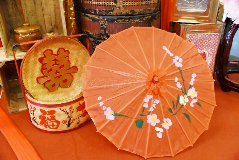 Китайский прием по случаю бракосочетания стоковая фотография