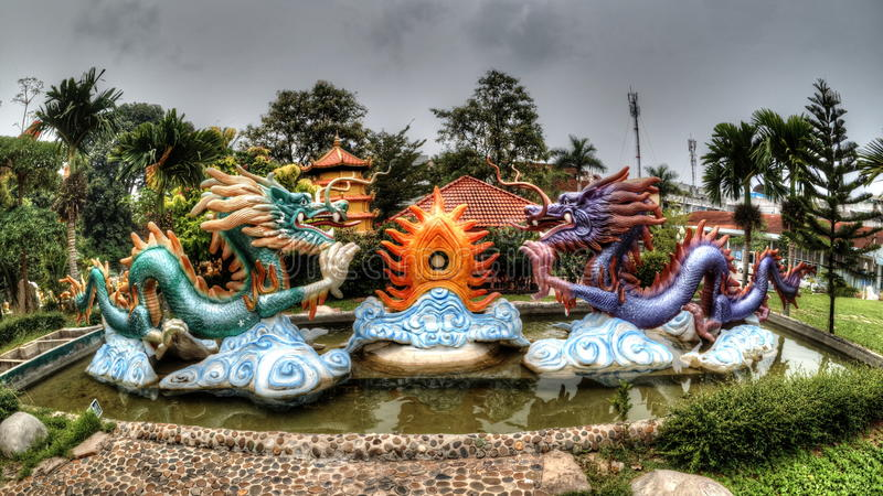 китайский дракон стоковые фото