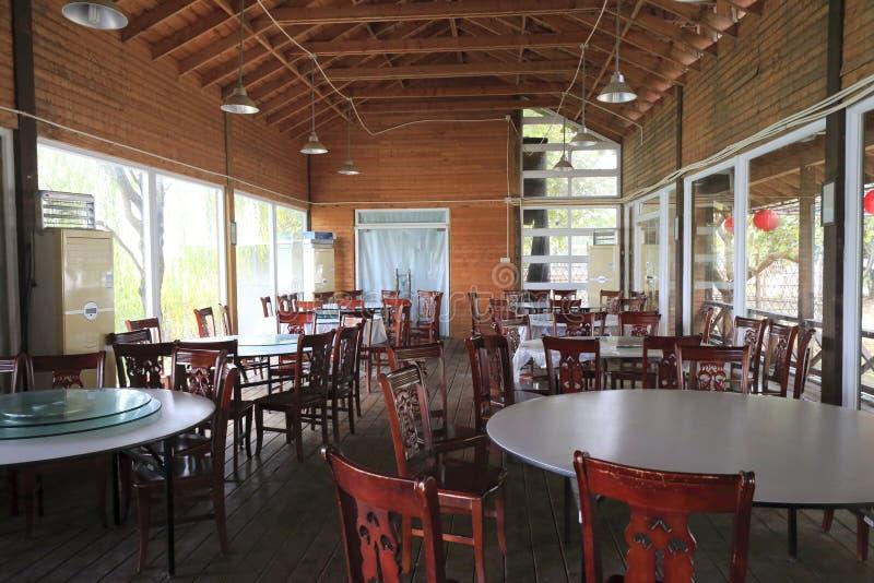 Китайский ресторан в сельской местности стоковое изображение