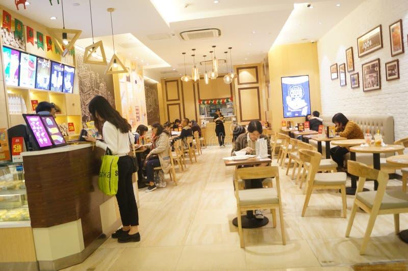 китайский ресторан стоковые фото