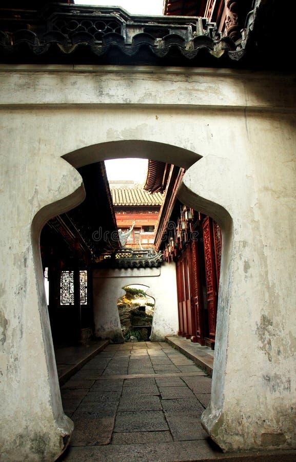 китайский сад стоковые фотографии rf