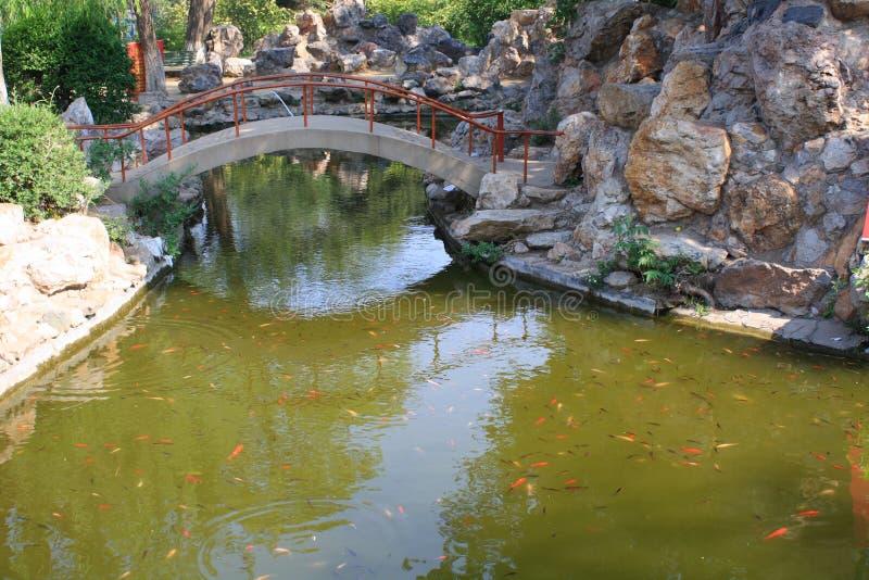 Китайский сад стоковое изображение