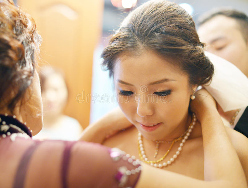 Китайский свадебный подарок стоковое изображение rf