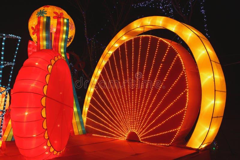 Download китайский справедливый новый год виска Panjin Редакционное Фото - изображение насчитывающей лунно, культура: 18390866