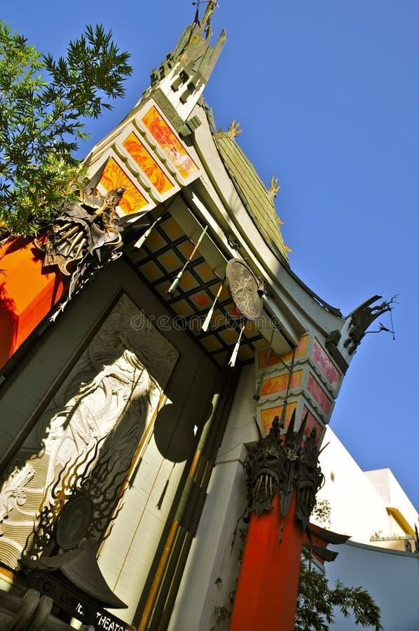 Китайский театр, Голливуд стоковая фотография rf