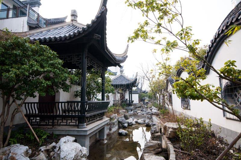китайский тип сада стоковое изображение