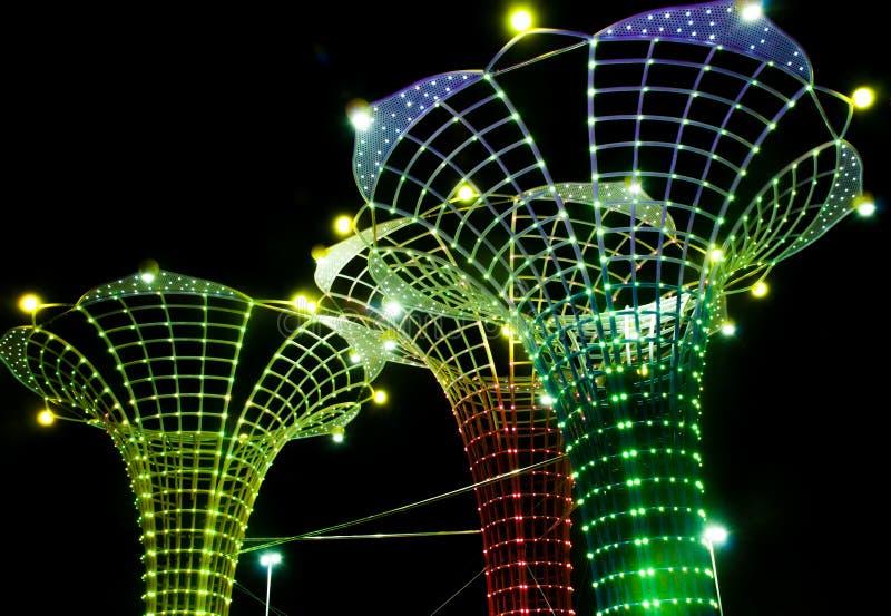 Китайский фестиваль огней в Гуанчжоу стоковая фотография