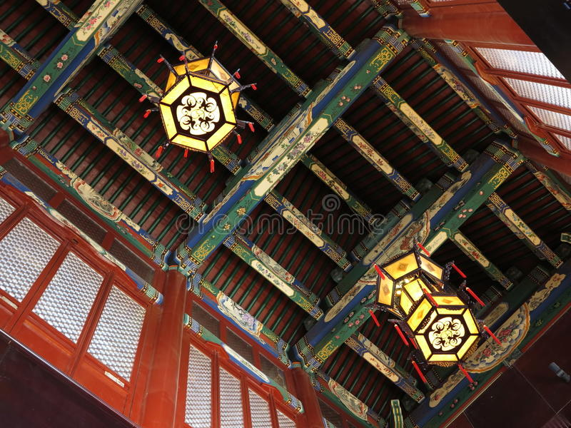 Китайский фонарик Китай стоковая фотография rf