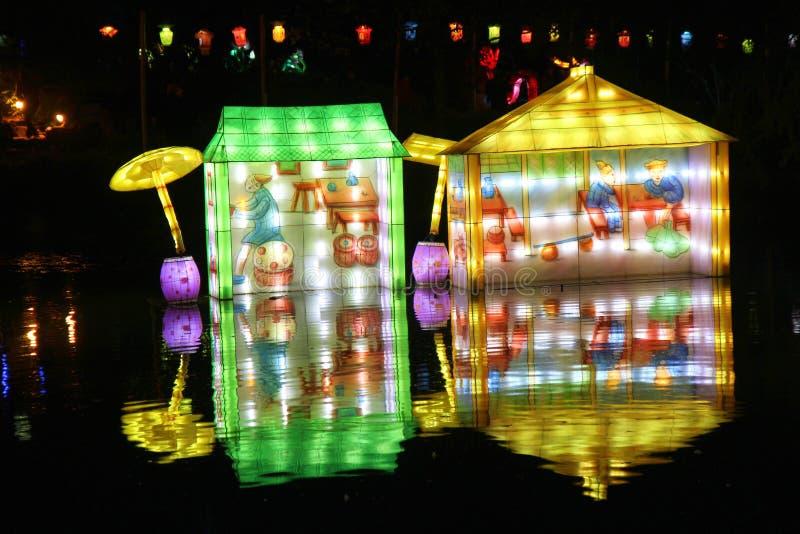 китайский фонарик празднества стоковое изображение