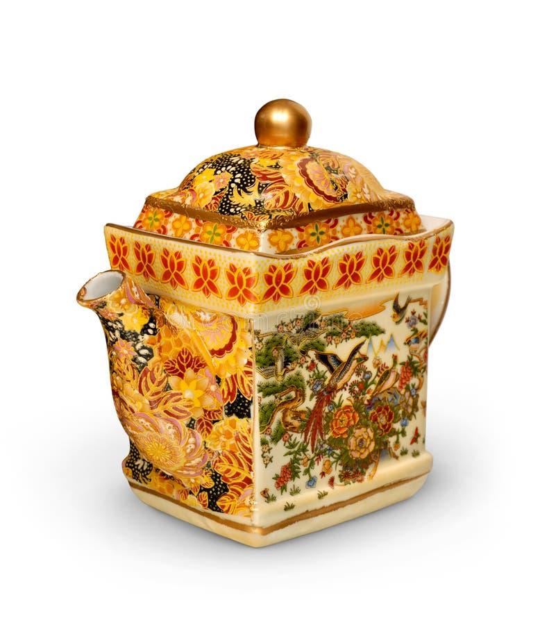 китайский чайник стоковые фото