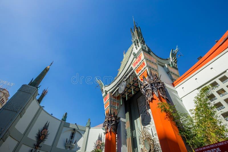 китайский grauman театр s стоковое фото