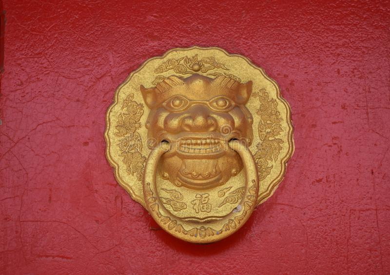 китайский knocker стоковые изображения rf