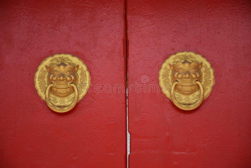 китайский knocker стоковое фото rf