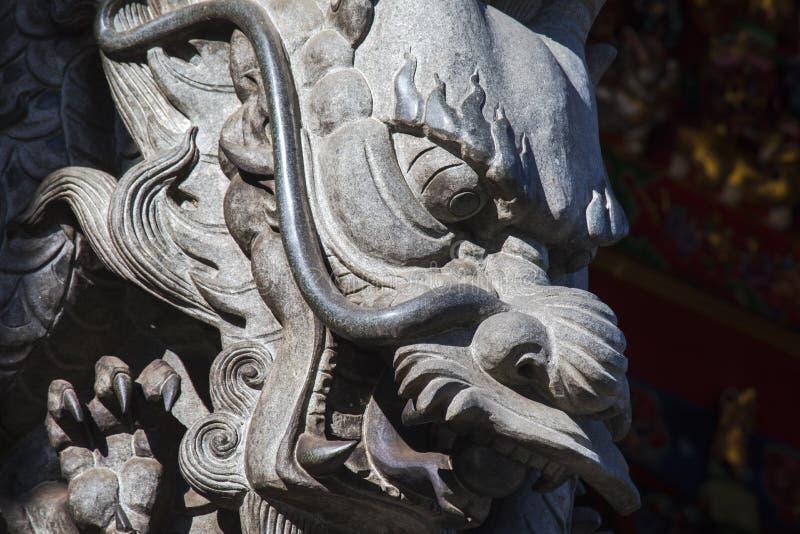 Китайское вероисповедание, виски, штендеры, штендеры дракона, драконы стоковая фотография rf