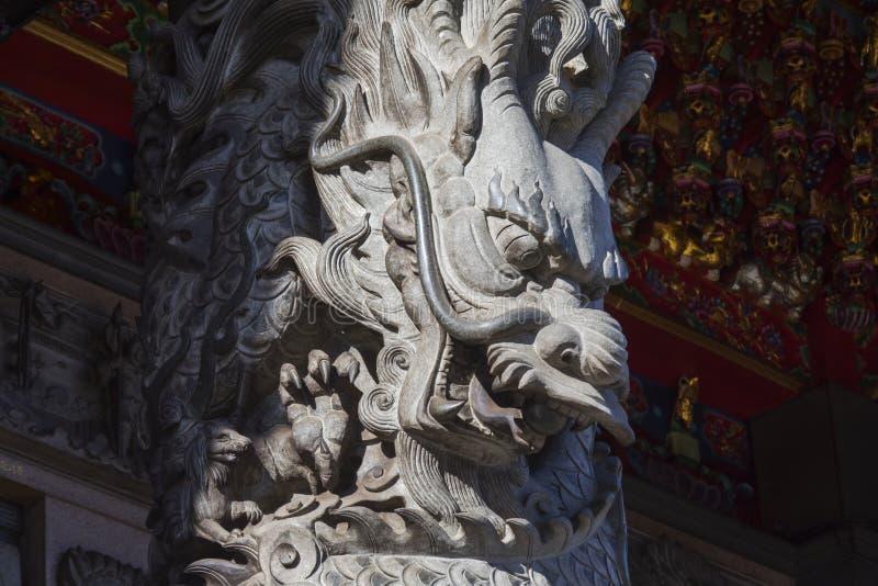 Китайское вероисповедание, виски, штендеры, штендеры дракона, драконы стоковое фото rf