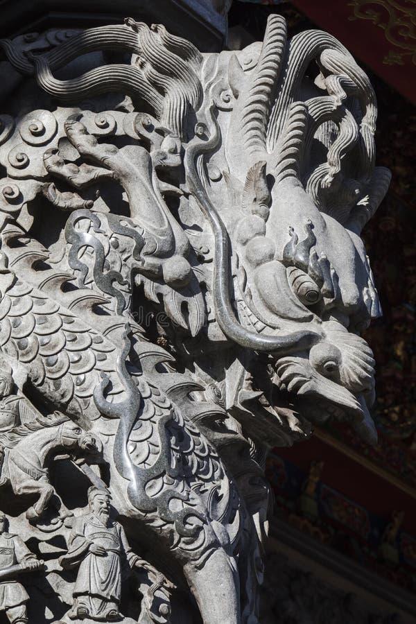 Китайское вероисповедание, виски, штендеры, штендеры дракона, драконы стоковое изображение rf