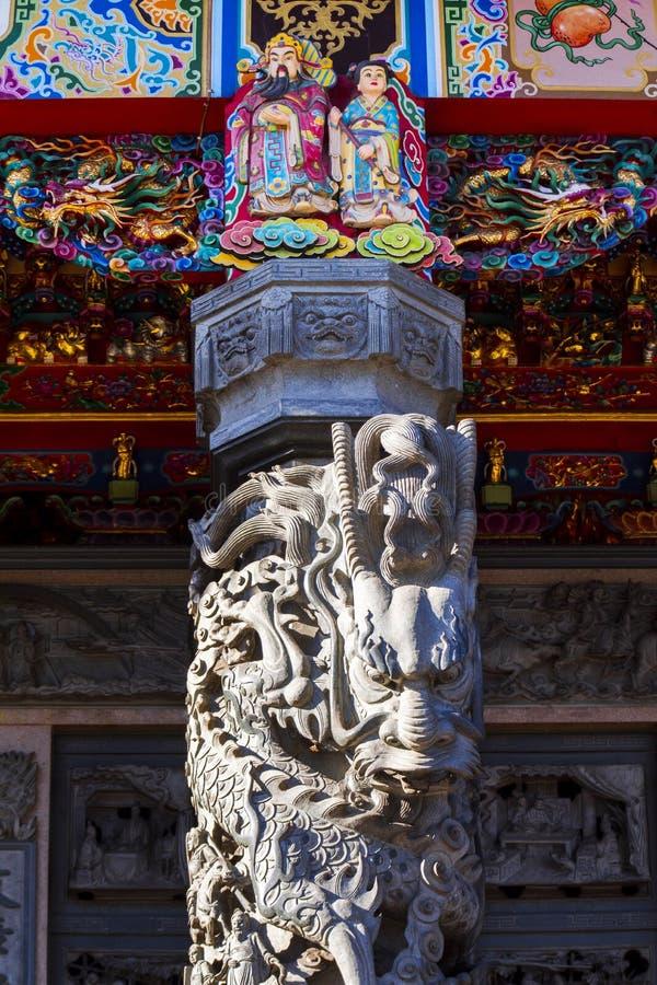 Китайское вероисповедание, виски, штендеры, штендеры дракона, драконы стоковое фото