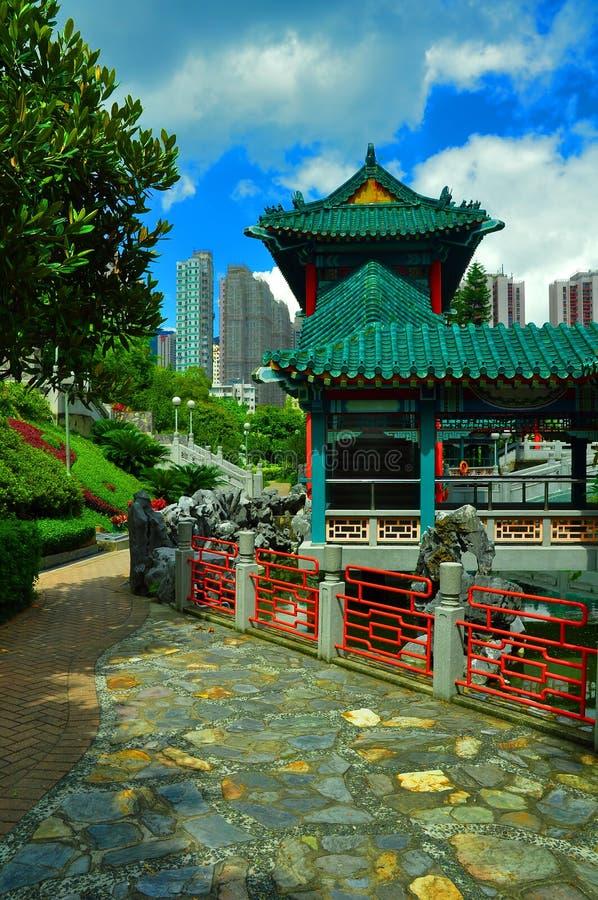китайское Дзэн pagoda сада стоковая фотография rf