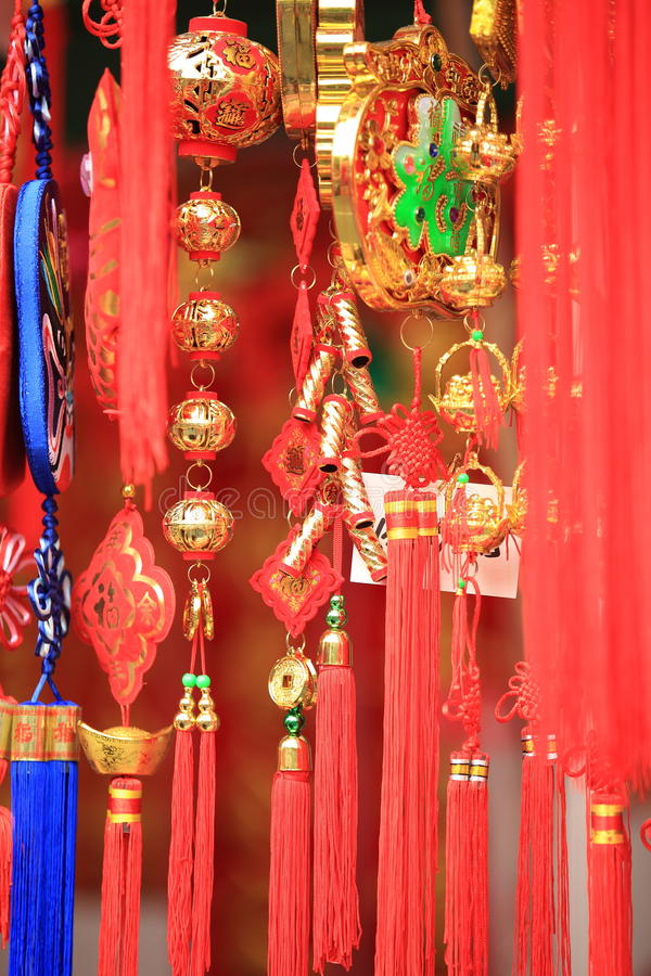 китайское Новый Год украшения стоковые фото