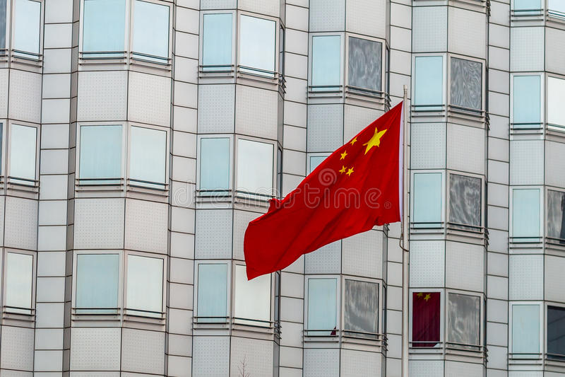 Китайское посольство Берлин стоковые фото
