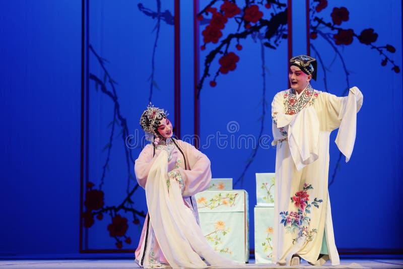 Китайское представление оперы павильон пиона стоковая фотография