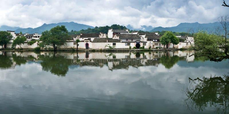 китайское село стоковые изображения