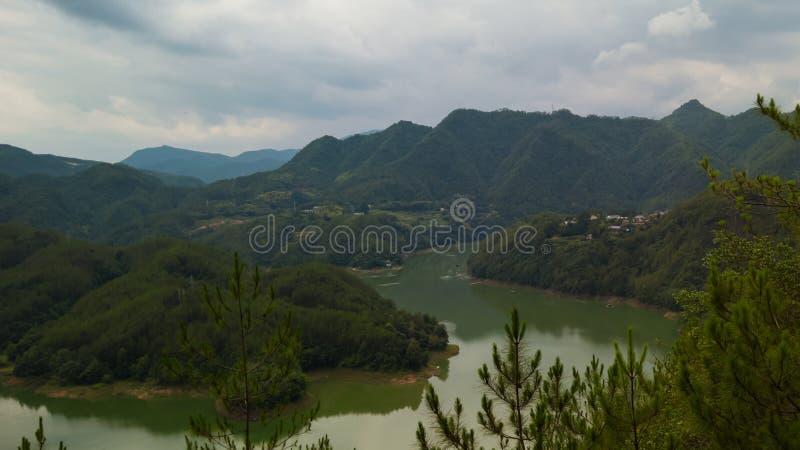 китайское село стоковое фото rf