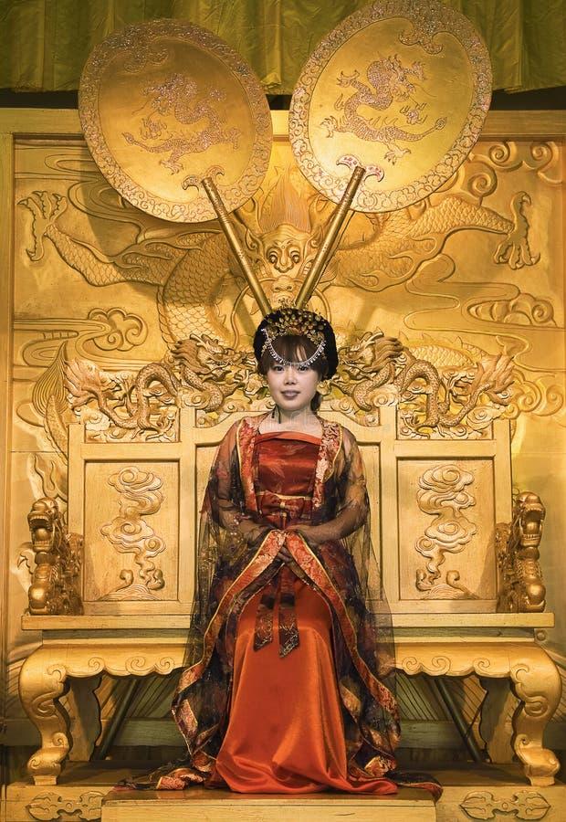 китайское cosplay стоковое изображение rf