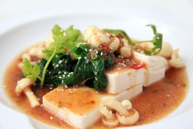 китайское xo tofu соуса стоковая фотография